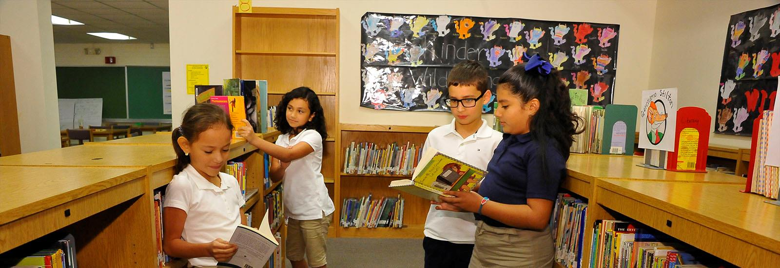 The library is an important resource for all of our students.